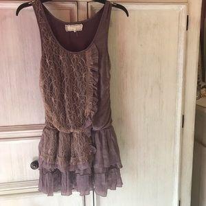 A'reve Purple Dress Size Small